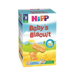Biscuiți Bio pentru sugari, +6 luni, 150 g, Hipp
