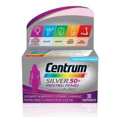 Centrum silver 50+ pentru femei, 30 comprimate, Gsk
