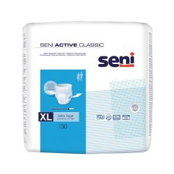 Chilot elastic absorbant Seni Active Classic, Extra Large, 30 bucati, Tzmo Sa