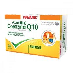 Coenzima Q10 + Carnitina, 30 capsule, Walmark