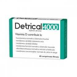 Detrical Vitamina D 4000UI, 60 comprimate, Natur Produkt