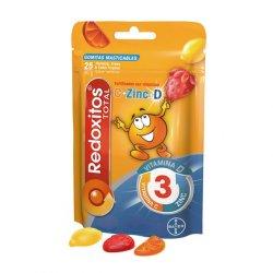 Jeleuri cu vitamina C 30 mg Redoxitos Triple Action, 25 bucati, Bayer