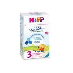 Junior Combiotic 3 formulă de lapte de creștere, +1 an, 500 g, Hipp