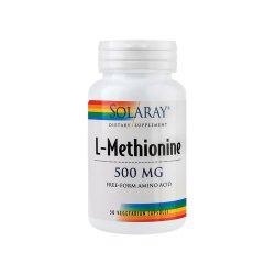 L-Methionine 500mg Solaray, 30 capsule, Secom
