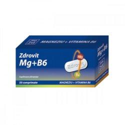 Magneziu + Vitamina B6, 50 comprimate, Zdrovit