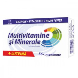 Multivitamine și minerale + Luteină, 56 comprimate Zdrovit