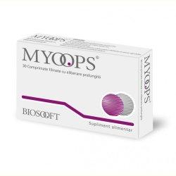 Myoops, 30 comprimate, Biosooft