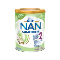 Nan 2 Comfortis lapte de continuare, +6 luni, 800g, Nestle