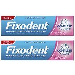 Pachet Crema adeziva pentru proteza dentara Fixodent Complete Original, 47 g + 47 g, P&G