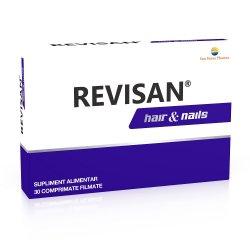 Revisan Păr și Unghii, 30 comprimate, Sun Wave Pharma