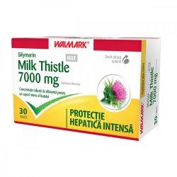 Silymarin Milk Thistle MAX, 30 comprimate filmate, Walmark