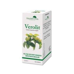Soluție împotriva negilor Verolit, 5 ml, Transvital