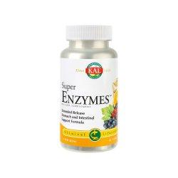 Super Enzymes Kal, 30 tablete, Secom