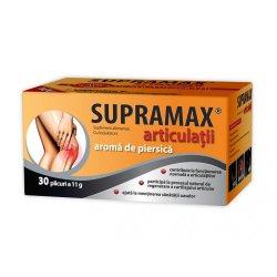 Supramax articulații cu aromă de piersică, 30 plicuri, Zdrovit