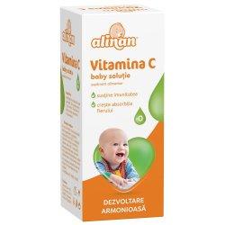 Vitamina C soluție Alinan, 20 ml, Fiterman Pharma