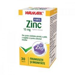 Zinc Forte 15mg, 30 tablete, Walmark