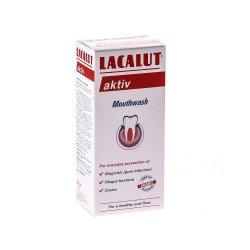 Apă de gură Lacalut Aktiv, 300 ml, Theiss Naturwaren