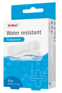 Dr.Max Plasture rezistent la apa 19X72mm 20buc