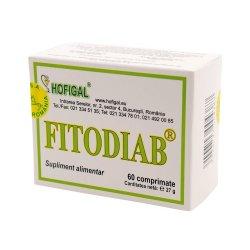 Fitodiab, 60 comprimate, Hofigal