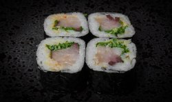 Negi Hamachi roll   image
