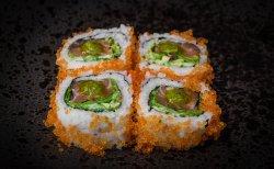 Salmon tar-tar roll image