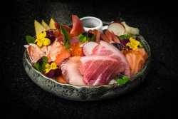 Bara chirashi sushi  image