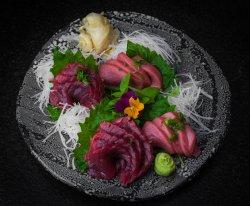 Tuna sashimi set  image