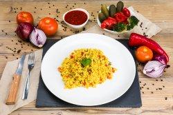 Orez cu ciuperci și curry  image