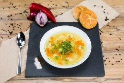 Supa de pui cu tăiței   image