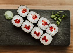 Maki cu ardei și brânză / Maki with peppers and cheese image