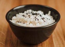Orez cu susan negru / Rice with black sesame image