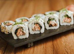 Salmon Teriyaki Roll image