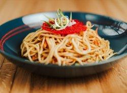 Tăiței cu legume / Vegetable noodles image