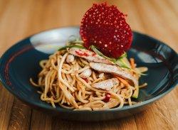 Tăiței cu pui / Chicken noodles image