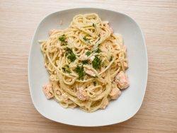 Spaghetti al salmone image