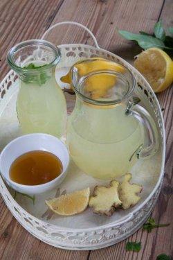 Limonadă cu ghimbir și mentă image