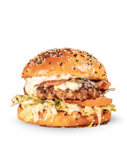 The Gorgonzola Monster Burgr image