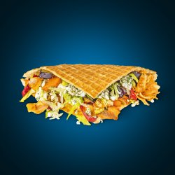 Cheesy Waffle image