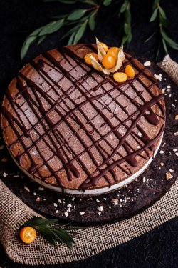 80015 - Tort Choco Crunchy (Produs Congelat) 1 Kg image