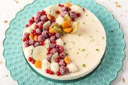 80018 - Tort cu lămâie (Produs Congelat) 1 Kg image
