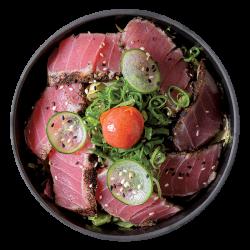 Tataki tuna salad image