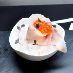 Sashimi sea bass