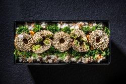 Kebun de falafel cu orez, sos oriental și pătrunjel image
