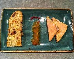 Pate de Foie Gras with Orange Jam image