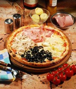 Pizza Quattro Stagioni 40 cm. image