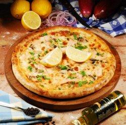 Pizza Salmone 30 cm. image