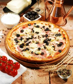 Pizza Capricciosa 30cm. image