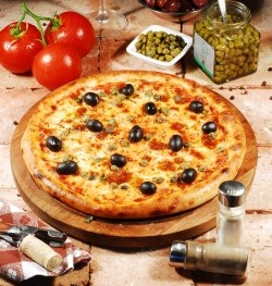 Pizza Siciliana 30 cm. image