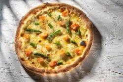 Pizza Salmone E Asparagi  image