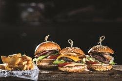 Trio Mini Burgers image